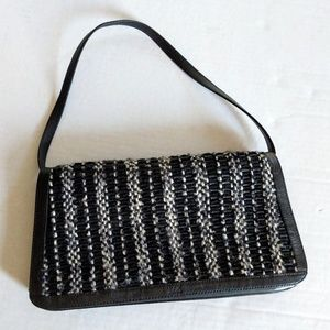 The Sak Black Convertible Shoulder Bag